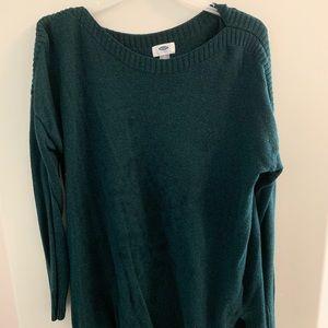 Emerald green sweater